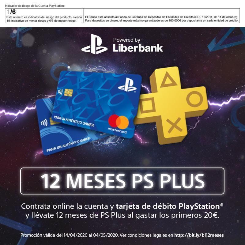 ¡Un año GRATIS de PlayStation Plus de regalo!