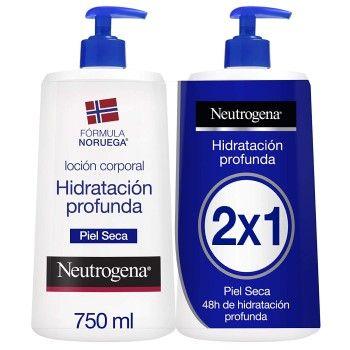 Pack de 2 envases de loción corporal Neutrogena al precio más barato en Amazon: 16,95€