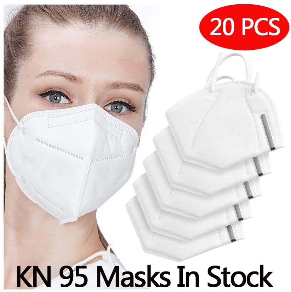 20 mascarillas KN95 en Amazon