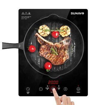 Placa de inducción portátil Sunavo por 36,53€ en Amazon