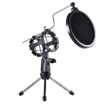 Soporte de trípode para micrófono Docooler por 9,99€ en Amazon