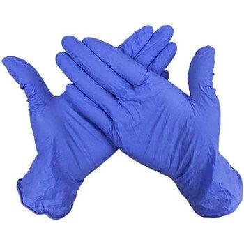100 guantes de nitrilo en Amazon