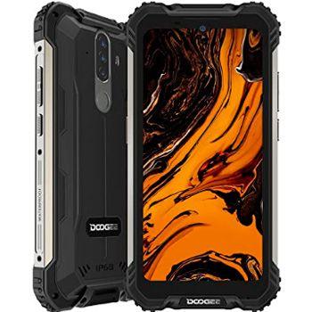Top móviles con mayor batería: Doogee S58 Pro