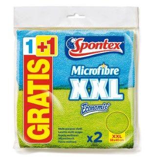 2 bayetas de microfibra Spontex
