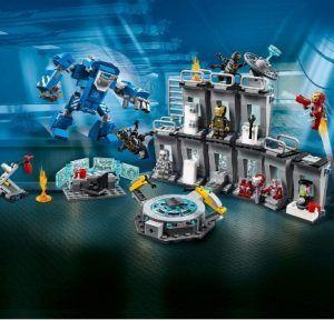 Comprar LEGO Súper Héroes – Iron Man Sala de Armaduras barato