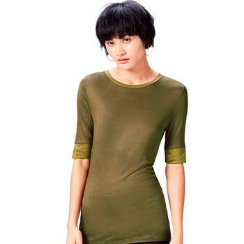 Camiseta mujer extralarga Find por 2,29€ en Amazon