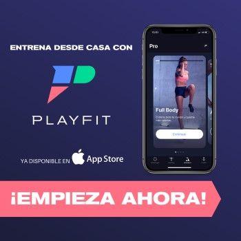 ¡Ponte en forma con PlayFit – Ejercicios en casa, ya disponible en App Store!