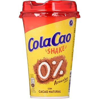 Bandeja de 10 vasos de Cola-Cao Shake 0% por 8,90€ en Amazon