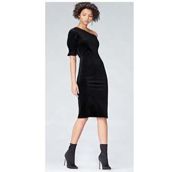 Vestido mujer terciopelo Find por 6€ en Amazon