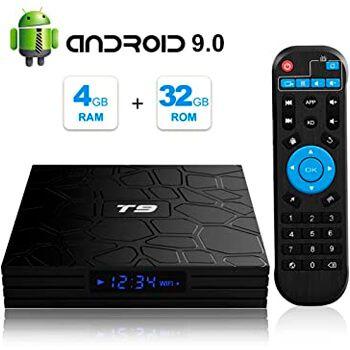 Android TV Box T9 por 35,69€ en Amazon