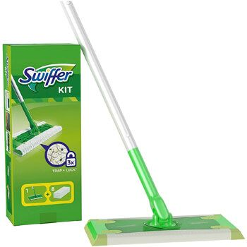 Kit de mopa Swiffer en Amazon