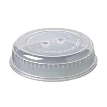 Tapa para microondas redonda de 26 cm por 1€ en Amazon
