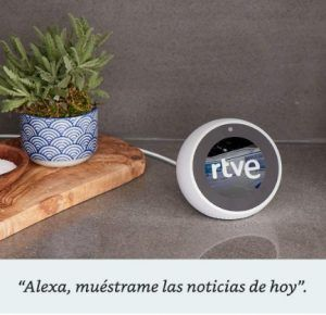 Comprar Amazon Echo Spot reloj inteligente