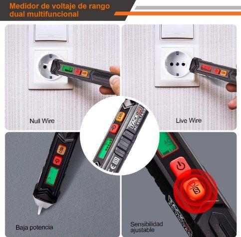 Comprar Detector de voltaje sin contacto barato