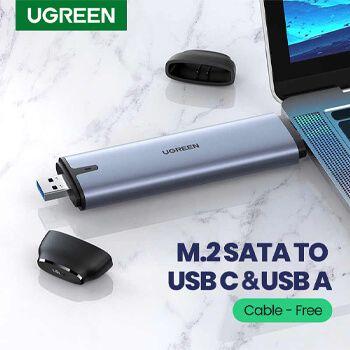 Adaptador 2 en 1 disco M2 a USB y USB TipoC en AliExpress