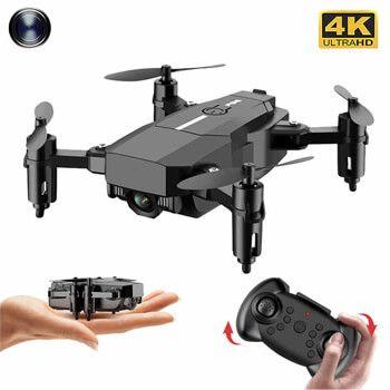 Mini drone con cámara 4k F86 en AliExpress