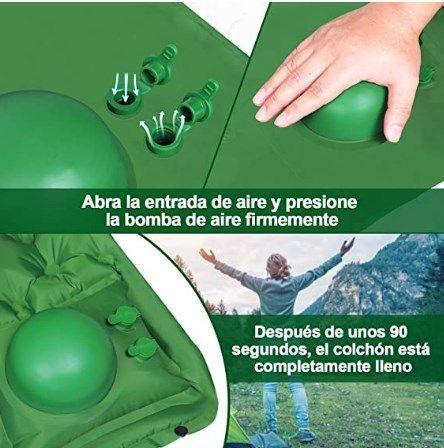 Comprar Esterilla inflable para camping barata