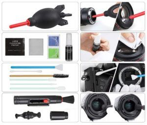 Comprar Kit de limpieza para cámara réflex Zacro