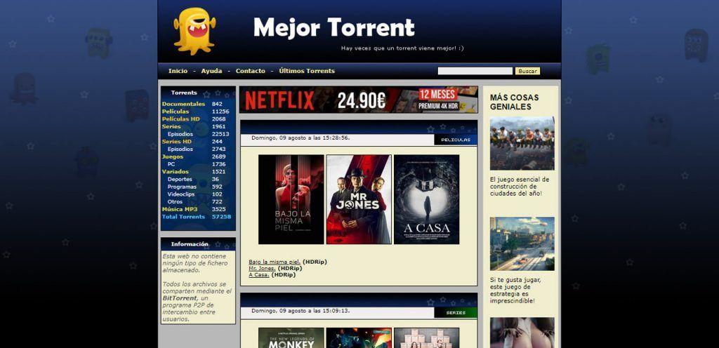 descargar torrents español
