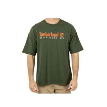Camiseta Timberland Embroidery Verde