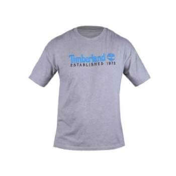 Camiseta Timberland Embroidery Gris