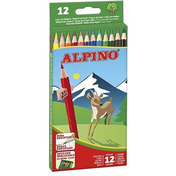 Estuche de 12 lápices de colores Alpino en Amazon