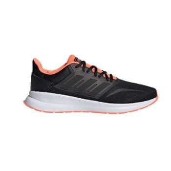 Zapatillas Adidas Run Falcon Negro Coral