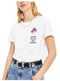 Camiseta estampada para mujer