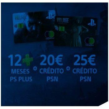 12 meses gratuitos de PS Plus + 20€ de crédito PSN + recompensa de 25€ de crédito PSN con la Tarjeta PlayStation