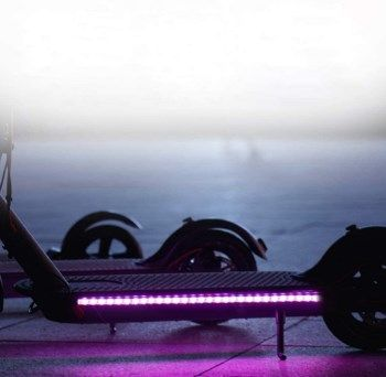 Tira de luz LED para Scooter eléctrico