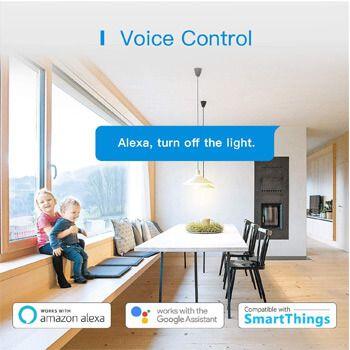 control por voz de enchufe inteligente