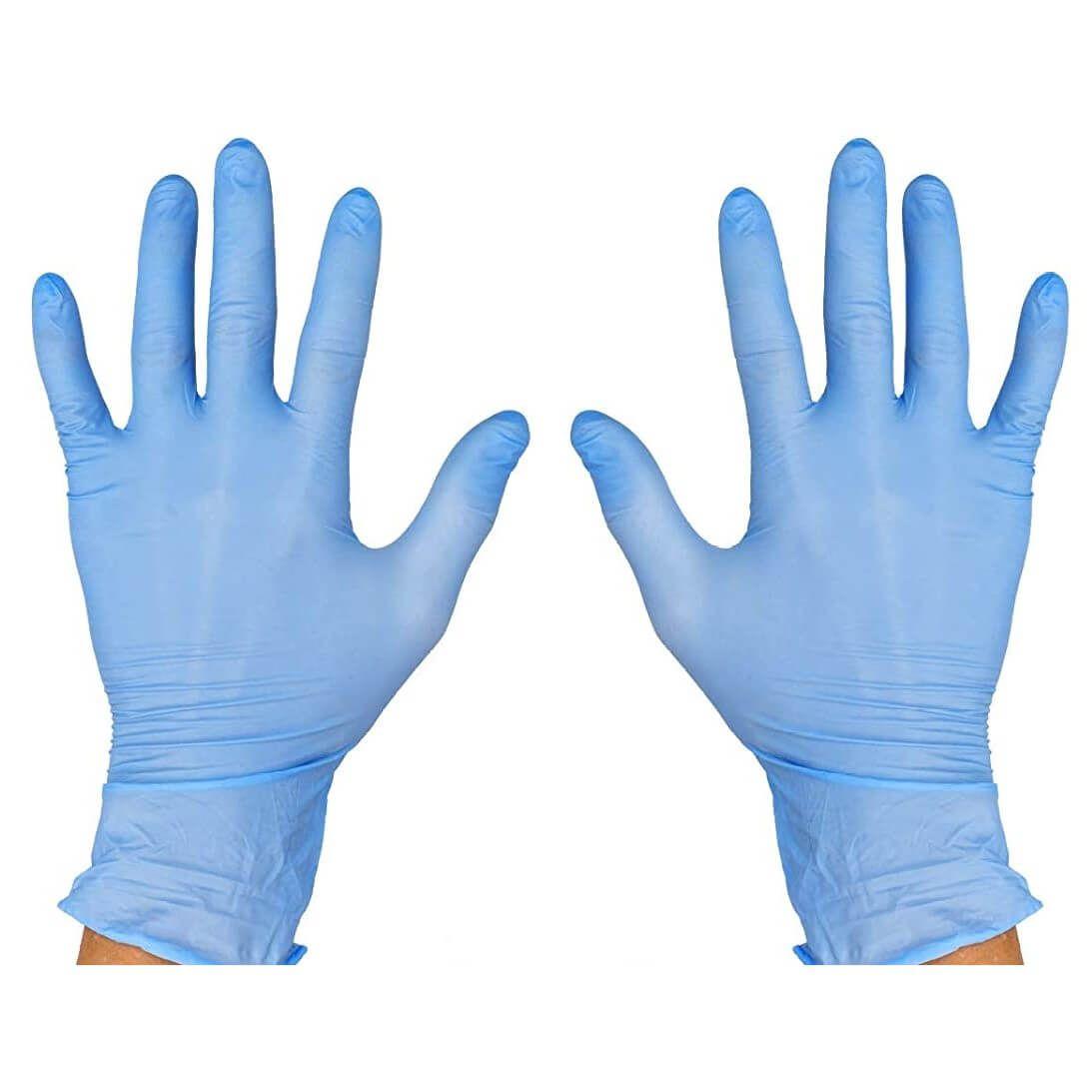 Pack de 100 guantes de nitrilo desechables