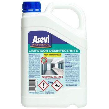 Limpiador desinfectante Asevi Profesional