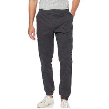 Pantalón gris hombre Amazon