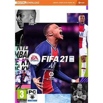 FIFA 21 para PC con código de descarga en Amazon