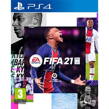 FIFA 21 para PS4 en Amazon