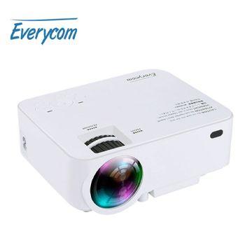 Mini proyector LED portátil en AliExpress