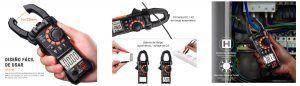 Compra Multímetro digital con pinza amperimétrica Tacklife