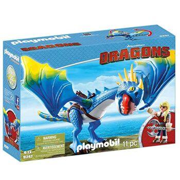 Playmobil - Astrid y Tormenta de Cómo entrenar a tu dragón en Amazon