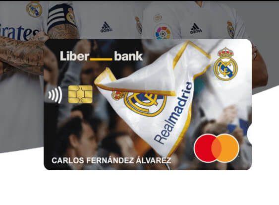 tarjeta Liberbank Real Madrid