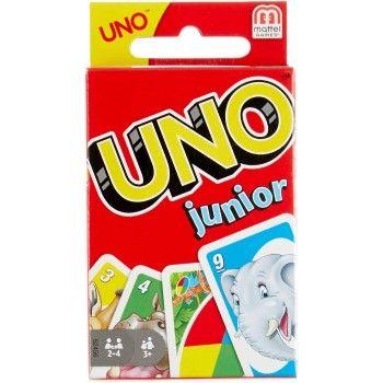 Juego de mesa con cartas UNO Junior en Amazon