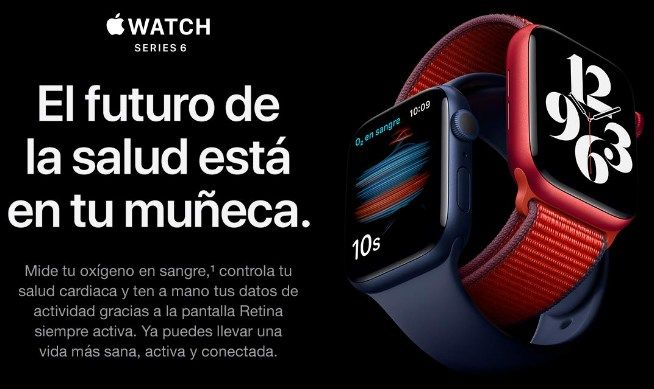 Comprar Apple Watch Series 6 barato