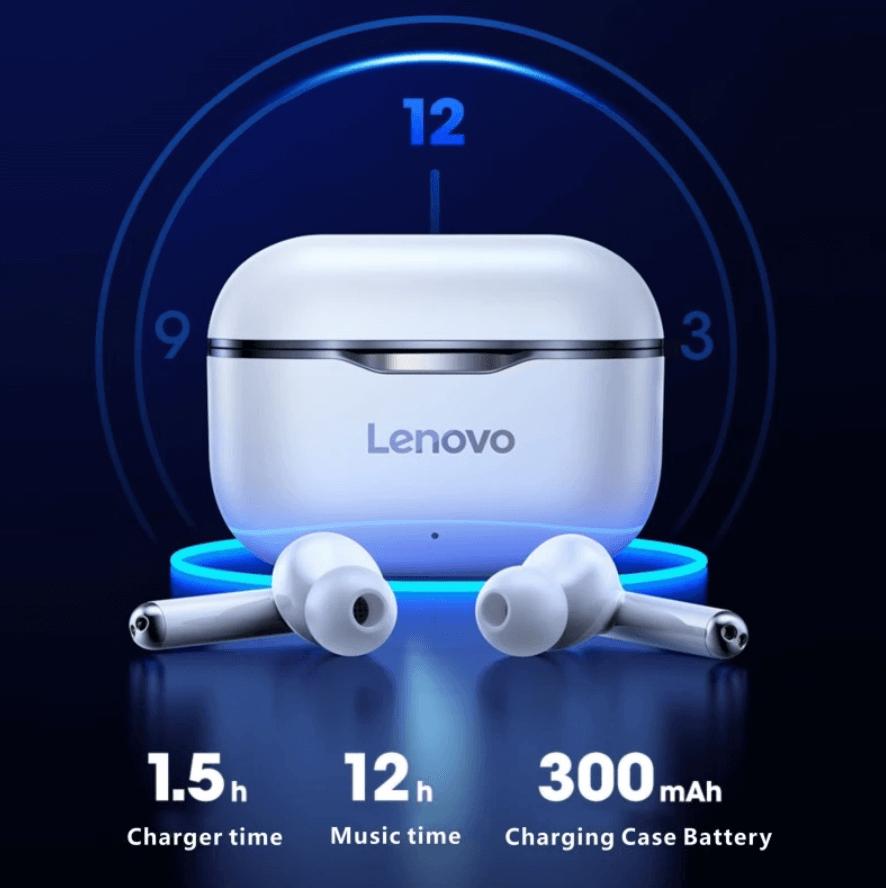 Auriculares inalámbricos Lenovo LP1 en AliExpress