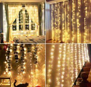 Comprar Cortina de luces LED barata