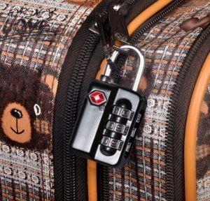 Pack de 2 candados TSA con combinación