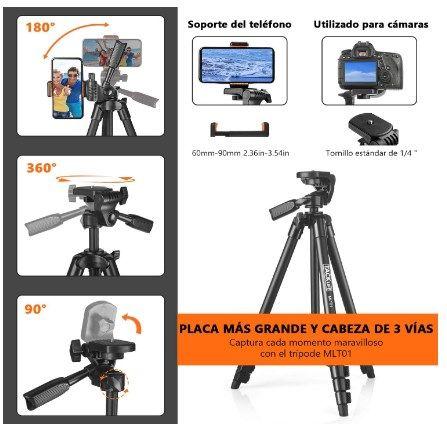 Comprar Trípode de cámara 5 en 1 barato