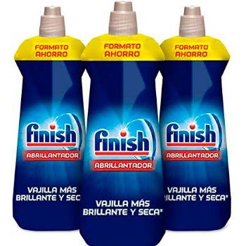 Finish Limpia máquinas contra cal, grasa y mal olor - 4 Unidades