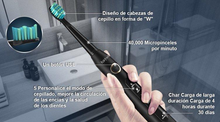 Comprar Cepillo de dientes eléctrico Fairywill barato