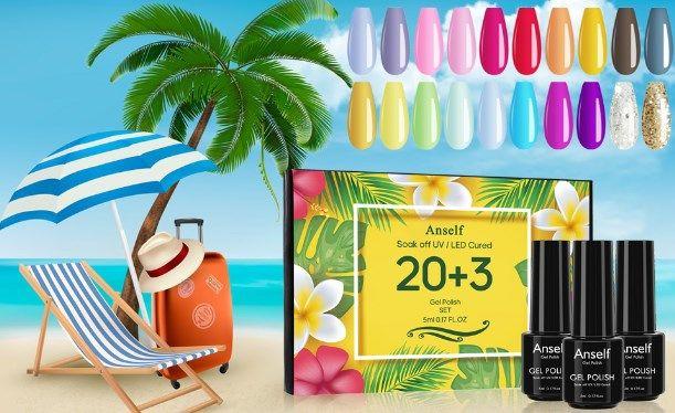 Comprar Esmalte de uñas para gel de 20 colores barato