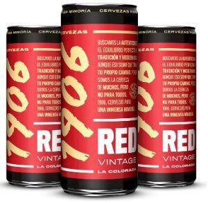 Comprar Pack de 24 latas de cerveza 1906 Red Vintage barata